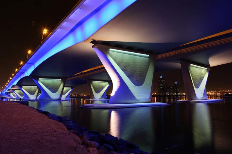 Al Garhoud Bridge, Dubai, United Arab Emirates