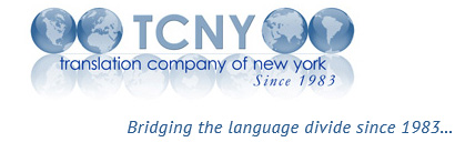 Translation Company of New York:  Document Translation Services for Corporate and Individual Matters – Includes Pharma, Biochemical, Healthcare, Tourism, and Consumer Products Industries